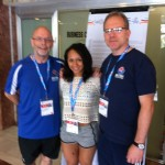 124 With Keith Morgan and Zoe in Israel 2014