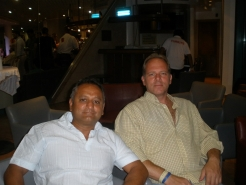 128 With my friend Sam Hayer 2011 Cape Town  RSA