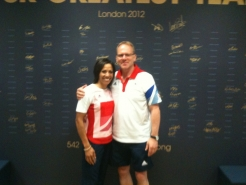 133 With Ol. Champ Kelly Holmes 2012