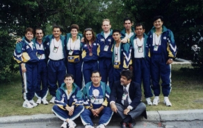 044 Team ESA, Panam Games Winnipeg, CAN 1999
