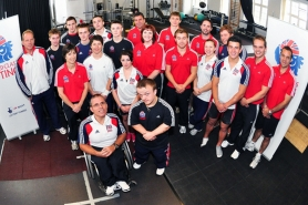 052British Weight Lifting Team and Staff, 2011