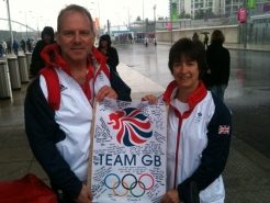 085 London 2012 with my great colleague Fiona Lothian